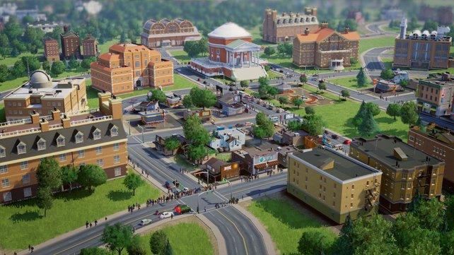 Von Anhängern lang erwartet enttäuscht Sim City in vielen Belangen.
