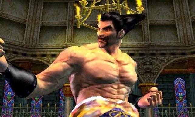 Erkennt ihr ihn wieder? Das ist eine jüngere Version von Heihachi.