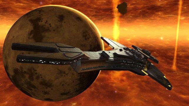 Dank des Schiffseditors treffen wir nicht ununterbrochen auf die Enterprise, Voyager oder Defiant.