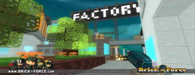 Auf den zahlreichen Spielkarten in den Brick-Welten werdet ihr eine Vielzahl an Waffen benötigen.