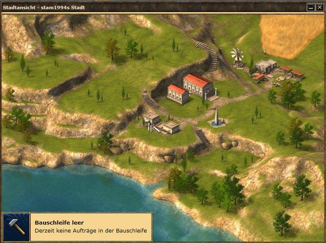 Anfangs ist das eigene Dorf wenig besiedelt - das ändert sich rasant.