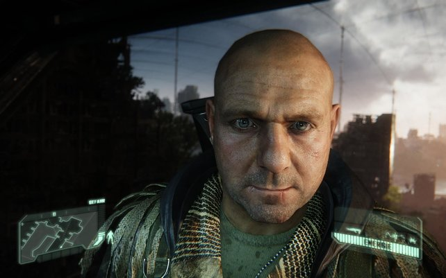 Fast lebensechte Gesichter gehören zu den Stärken der CryEngine.