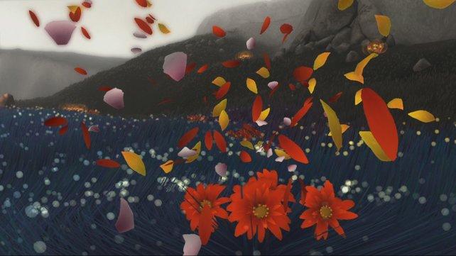 Spielspaß der anderen Art. In Flower seid ihr nichts anderes als ein Windstoß.