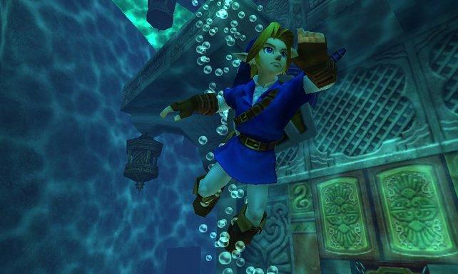 Der früher frustige Wassertempel spielt sich auf dem 3DS angenehmer.