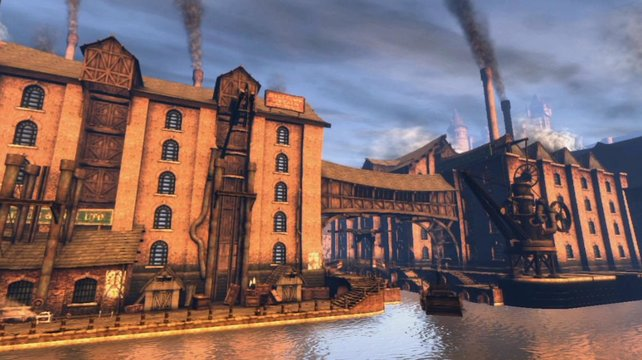 Fable 3 spielt 60 Jahre nach dem Vorgänger, wir sind also bereits im industriellen Zeitalter.