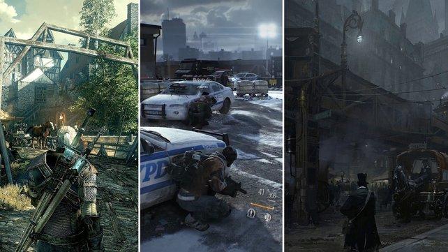 Ob Rollenspiel, reale Online-Mehrspieler-Schlachten oder das Zusammentreffen von Epochen: 2014 erscheinen viele Hit-Kandidaten.