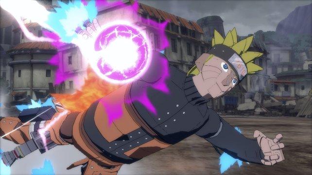 Von Masashi Kishimoto persönlich für das Spiel kreiert: Mecha-Naruto.