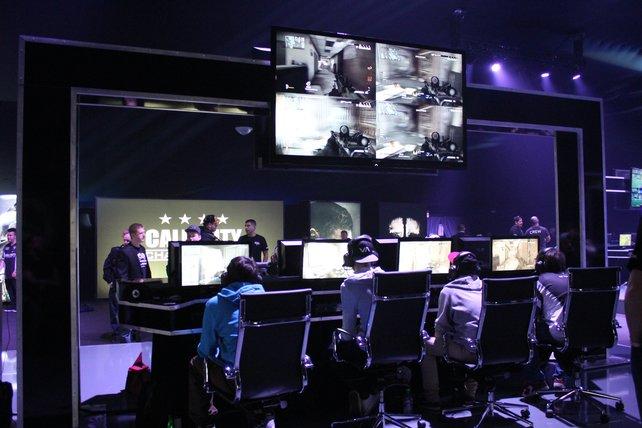 """Ein typisches """"Spielfeld"""" der Call of Duty Championship."""
