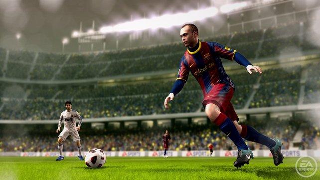 Grafisch hat sich FIFA 11 deutlich gesteigert.