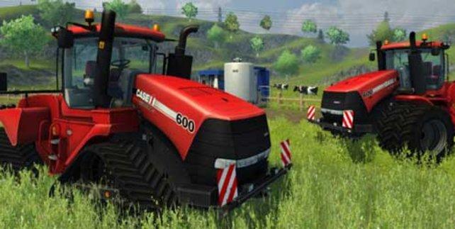 Traktoren: Beliebte Fahrzeuge in Simulatoren.