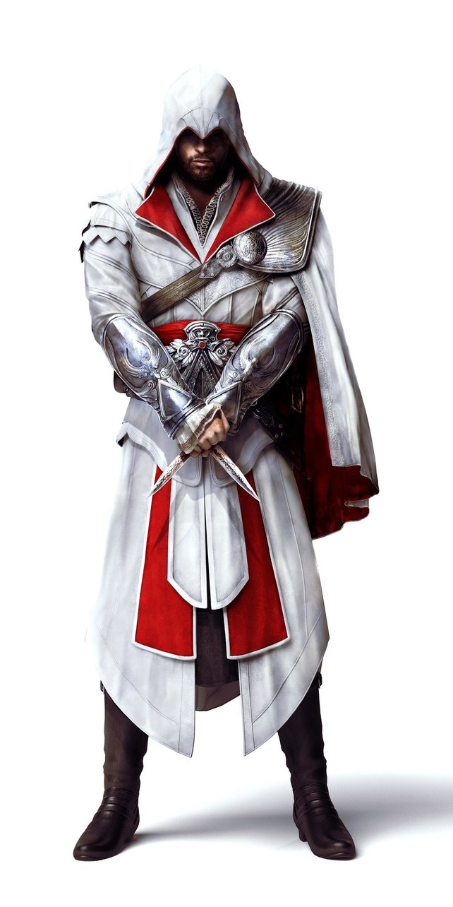 Ezio ist auch in Brotherhood der Held.