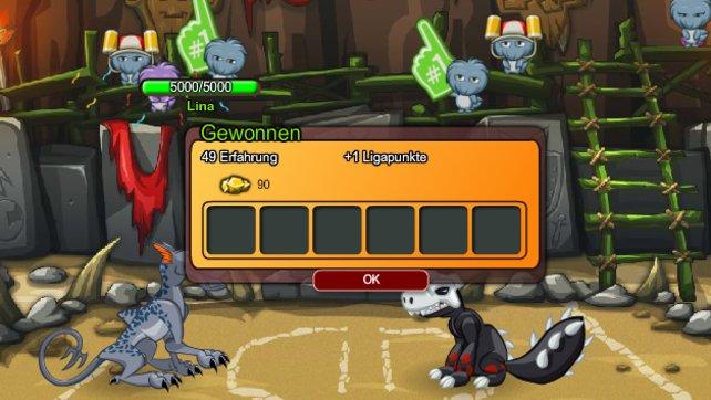 Auch in Browser-Spiel wie diesem spielt virtuelles Geld eine Rolle.