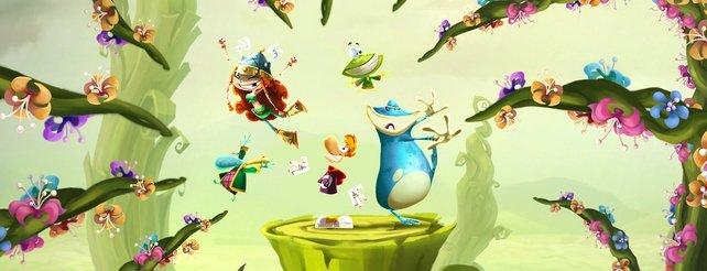 Rayman Legends: Kommt im Februar für PlayStation 4 und Xbox One