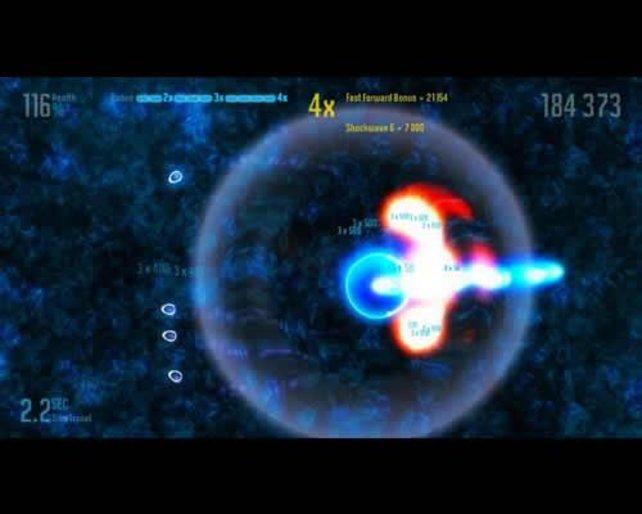 Durch Gegenstände, die Gegner fallen lassen, aktiviert ihr Bomben.
