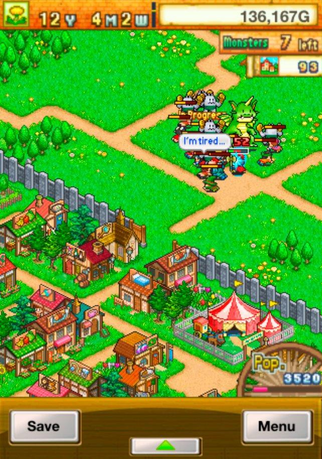 Das Spielprinzip gleicht dem Vorgänger Epic Astro Story, nur dass ihr hier eine mittelalterliche Stadt aufbaut.