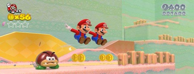 Super Mario 3D World: Frisches Video zeigt neue Areale und Gegenstände
