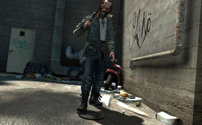 Neben  Polizisten und Templer gibt's noch die Rebellen.