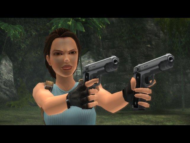 Ganz schön tough, die gute Lara