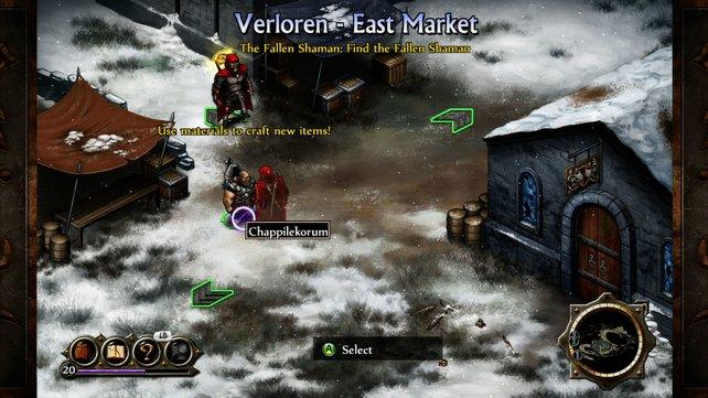 Edlere Grafik auf der Xbox. (Screenshot Xbox 360)