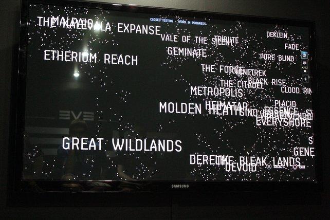 In Dust 514 könnt ihr mehr als 5.000 Sonnensysteme bereisen.