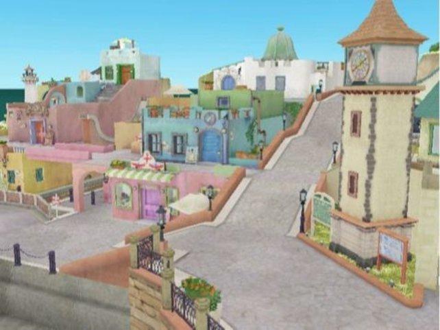 Die Hafenstadt Harmonika macht einen wirklich einladenden Eindruck.