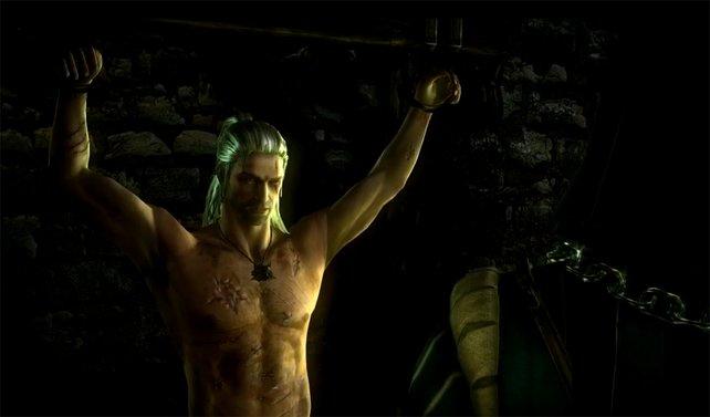 Einfach mal in Ruhe abhängen, sagt sich Hauptdarsteller Geralt.