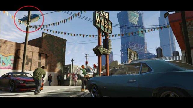 Ob ihr den Zeppelin in GTA 5 selber steuern könnt?