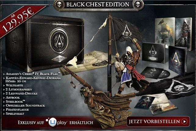 Ein Traum für Sammler, die Black Chest Edition.