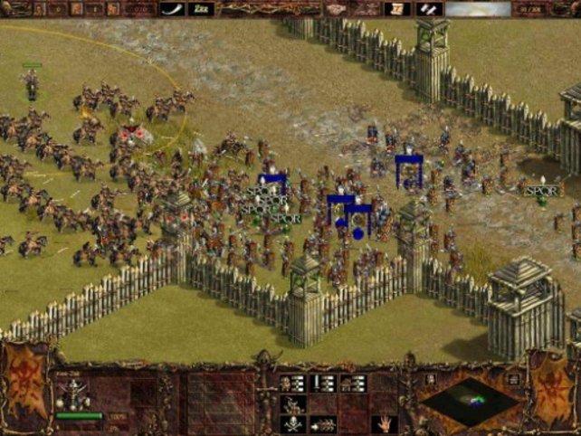 Ein hunnischer Häuptling in der Schlacht.