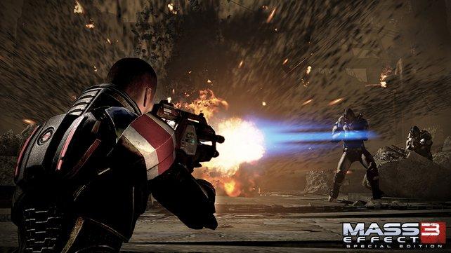 Die Fortschritte der Mehrspieler-Schlachten fließen auch in die Kampagne mit ein.