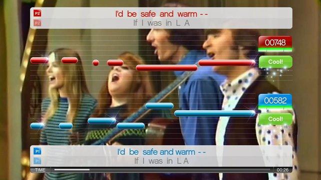"""Songs wie """"California Dreamin"""" lassen sich im Duett singen."""
