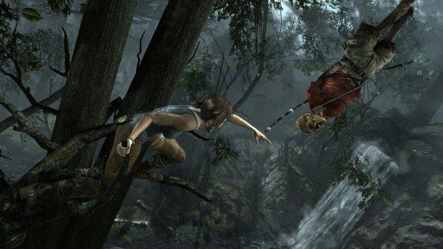 Dieser Bogen wird Lara noch gute Dienste leisten.