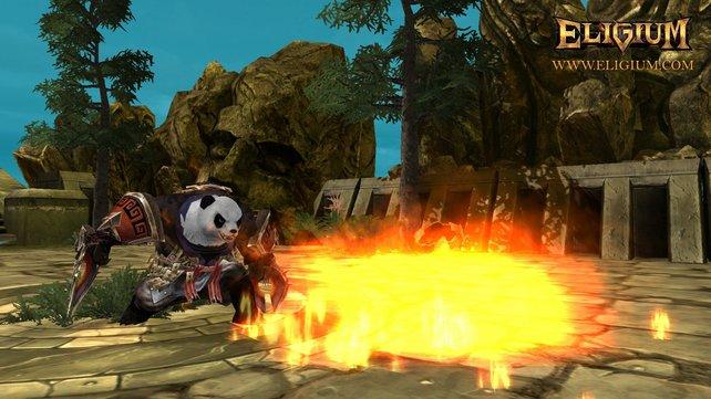 Das Kino haben Kung-Fu Pandas bereits erobert. Nun auch Rollenspiele.