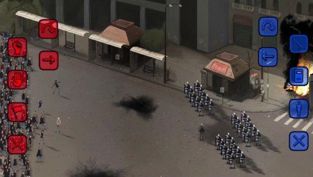 RIOT ist eine Simulation, die sich mit dem Thema Demonstrationen und Aufstände auseinandersetzt.