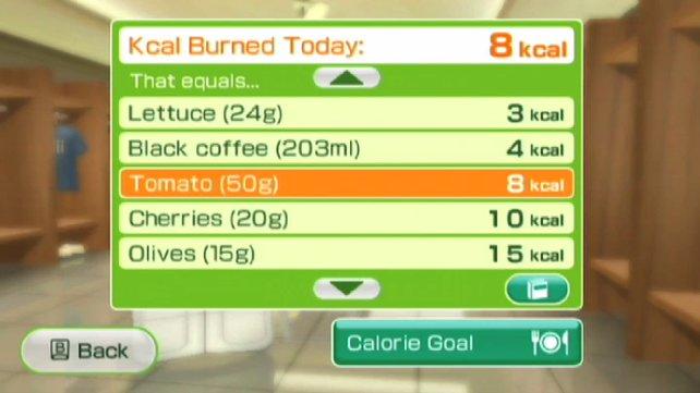 Ihr könnt in der Kalorientabelle einsehen, wie viel Kalorien in verschiedenen Lebensmitteln stecken.