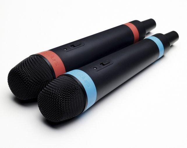 Klasse Styling und perfekter Klang: Die neuen SingStar Wireless Mikrofone