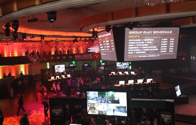 Das Hollywood Palladium in Los Angeles steht drei Tage lang im Zeichen von Black Ops 2.