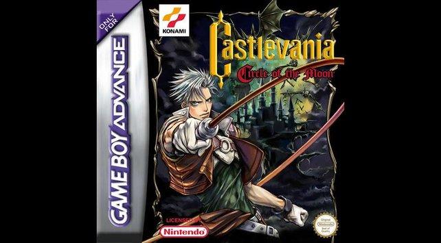 Nathan Graves im ersten Castlevania für den Game Boy Advance.