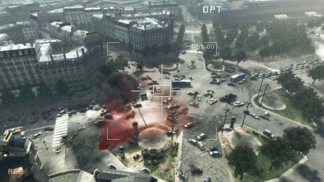 Paris-Freunde schmerzt es, die französische Hauptstadt in solch desolatem Zustand zu sehen wie hier in Modern Warfare 3.