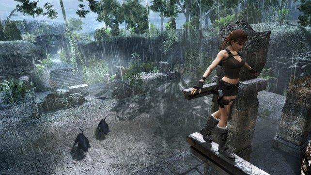 """Faszinierende Landschaften, angriffslustige Tiere, eine abenteuerlustige Lara - so kennt man """"Tomb Raider"""""""