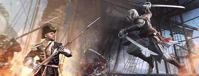 Assassin's Creed 4: So nehmt ihr auf hoher See Festungen ein (Video)