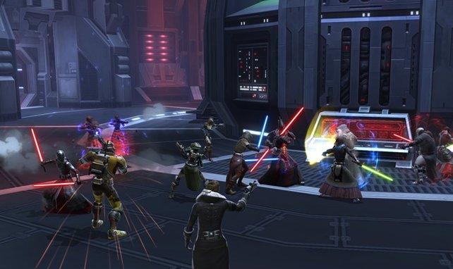 Wenn Jedis, Soldaten und Sith aufeinander treffen, geht das Spektakel los.