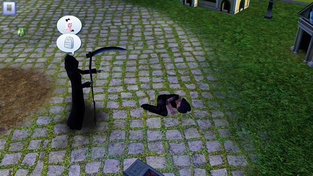 Der Tod ist in Sims 3 kein Grund, mit dem Leben abzuschließen. Danach geht es einfach weiter!