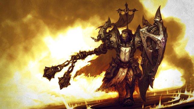 Diablo 3 - Reaper of Souls erweitert die Heldengruppe um den Kreuzritter.