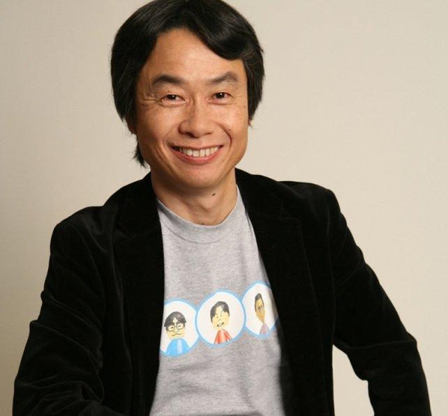 Shigeru Miyamoto arbeitet seit 1977 für Nintendo. Er hat Donkey Kong und Mario erfunden.