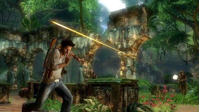 In Dschungel-Landschaften flieht ihr vor der ein oder anderen Kugel.