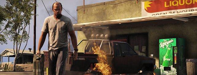 GTA 5: Schnelle Boliden, luftige Verfolgungsjagden und Idylle auf neuen Bildern