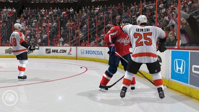 Ja, ihr könnt euch in NHL 12 prügeln. Und ja, das macht Laune.
