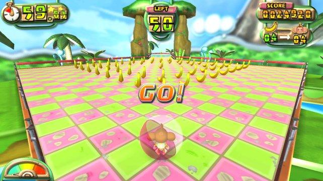 Auch auf Vita ist Monkey Ball fröhlich bunt.