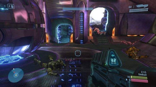 Innenräume bleiben auch in Halo 3 optisch eher mau.